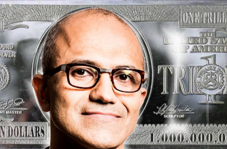 Microsoft feted to be the first trillion dollar tech company 13