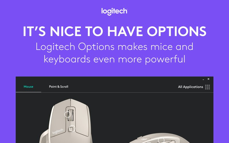 Logitech announces updated Options software and new colors