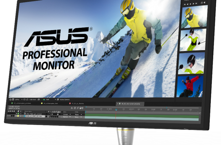 ASUS announces world's first direct-lit LED 4K UHD HDR monitor 28