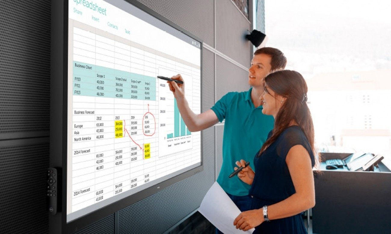 012a35adc14d Dell announces 55-inch and 86-inch interactive touch monitors ...