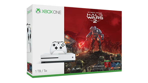 HUGE Deal: Get Xbox One S 1TB Halo Wars 2 Bundle, 'Wildlands' and 4 more games for £269.99 23