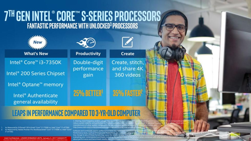 Intel finally unveils its 7th-gen CPUs for desktops and powerful laptops 4