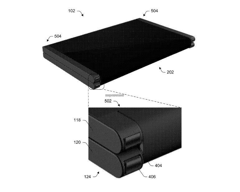 Microsoft patents a foldable phone-to-tablet mobile device 5