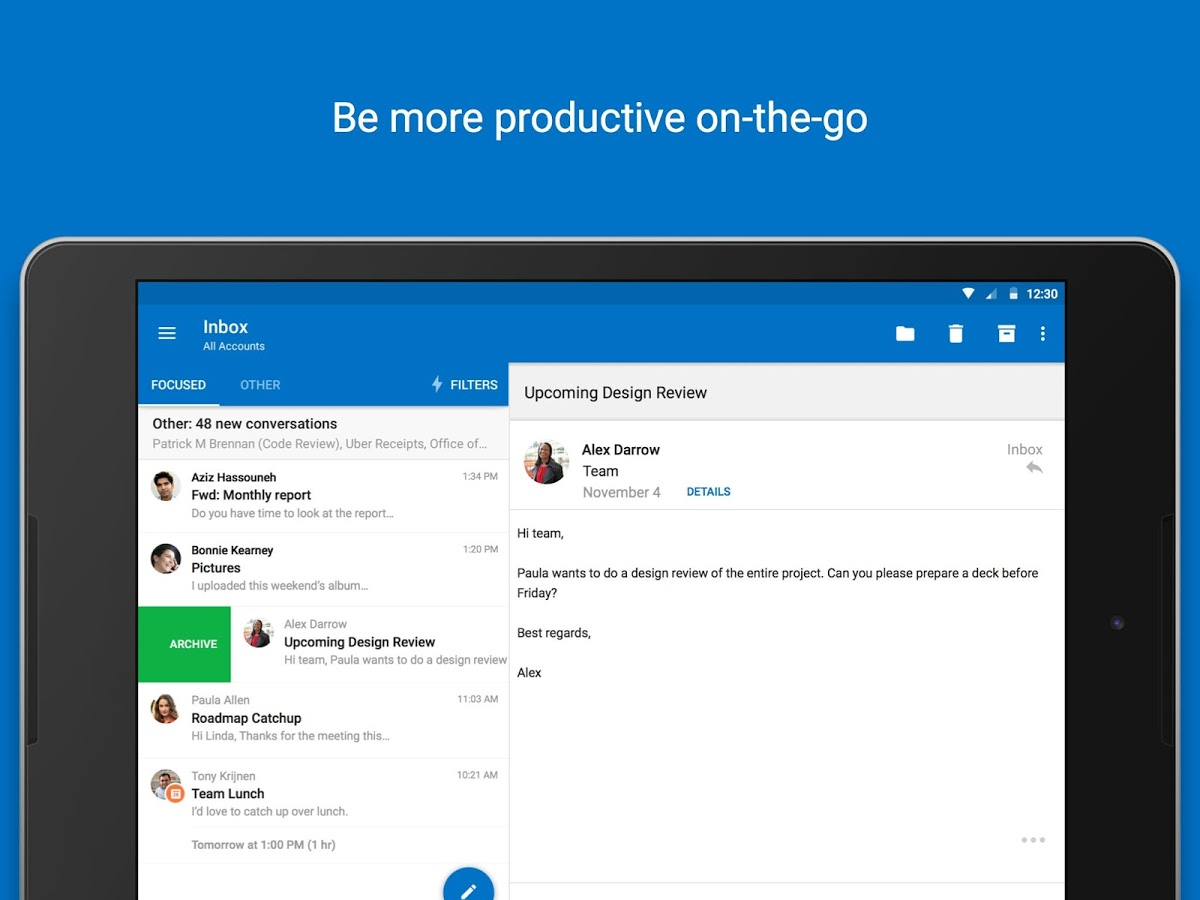 Outlook app for Android updated with support for @mentions - MSPoweruser