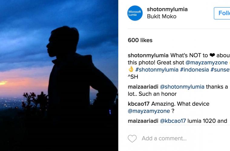 Microsoft kills its 'Shot On My Lumia' account on Instagram 1