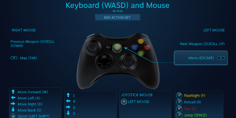 The latest Steam beta update lets you use Xbox 360 & One controllers