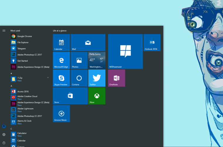 Windows 10 sees a slight bump in market share, finally claims more than 25% of the market 7