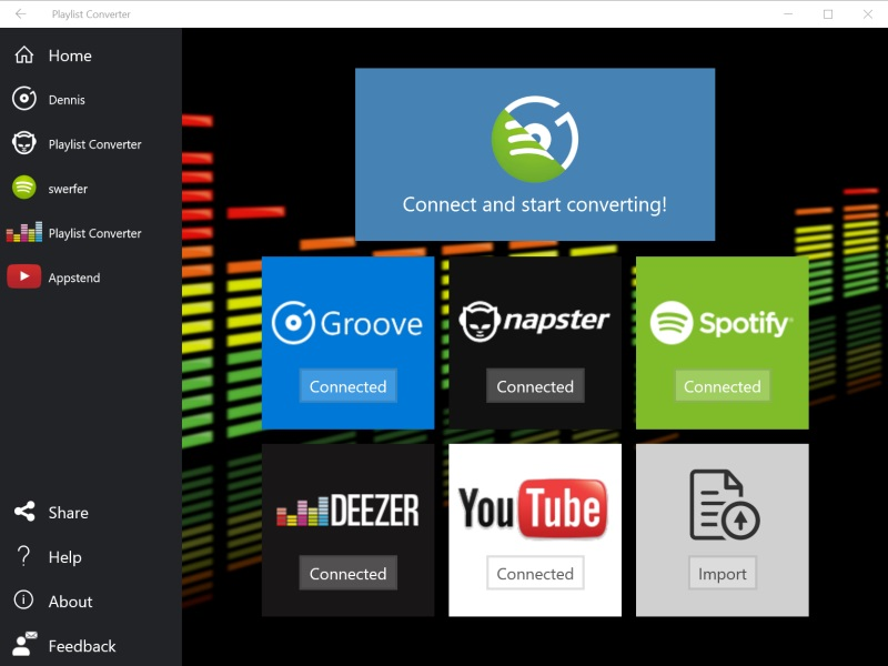 Convert youtube playlist to spotify