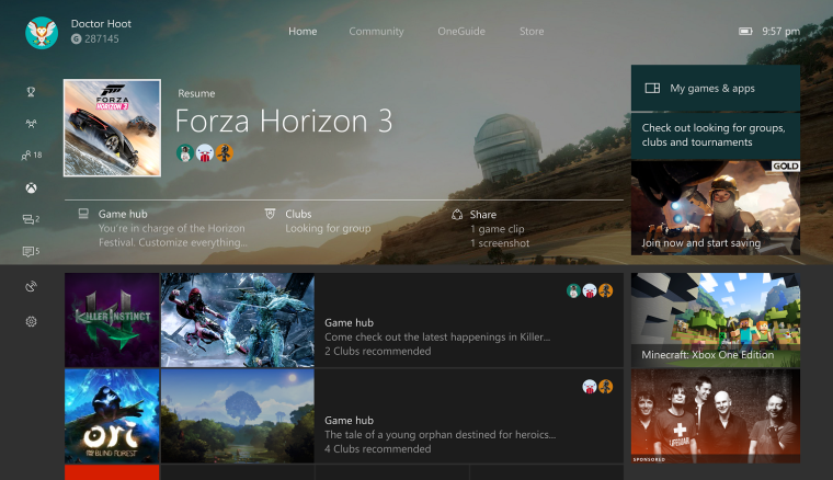 Xbox Insiders on the Alpha ring get a new bug-fixing update on the Xbox One 5