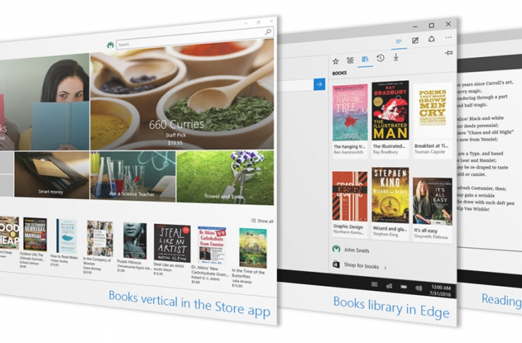 Microsoft launches the new e-book store in Windows 10 for Insiders 5