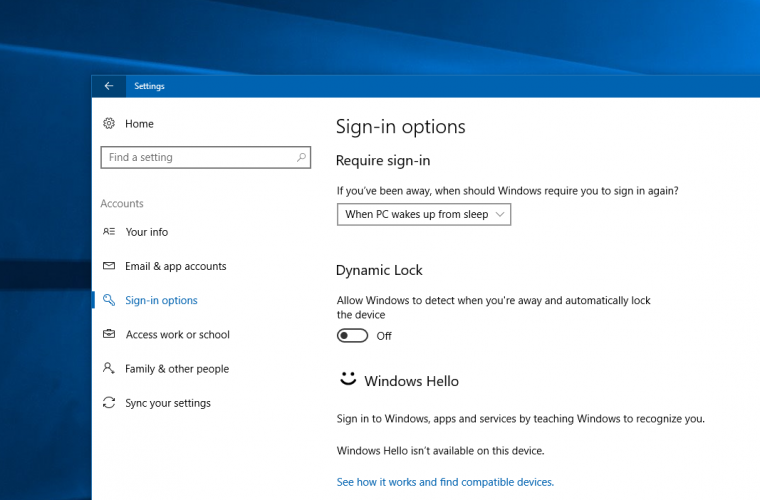 Windows 10 is getting a neat little security feature called 'Dynamic Lock' 10