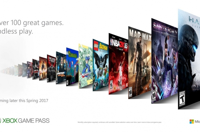 Microsoft announces Xbox Game Pass, a new gaming subscription service coming later this spring. 22