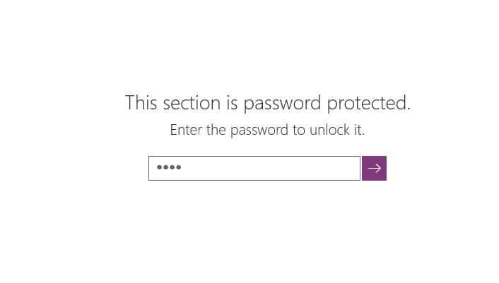 Onenote S Windows 10 App Now Lets You Protect Notebooks With Password And More Mspoweruser