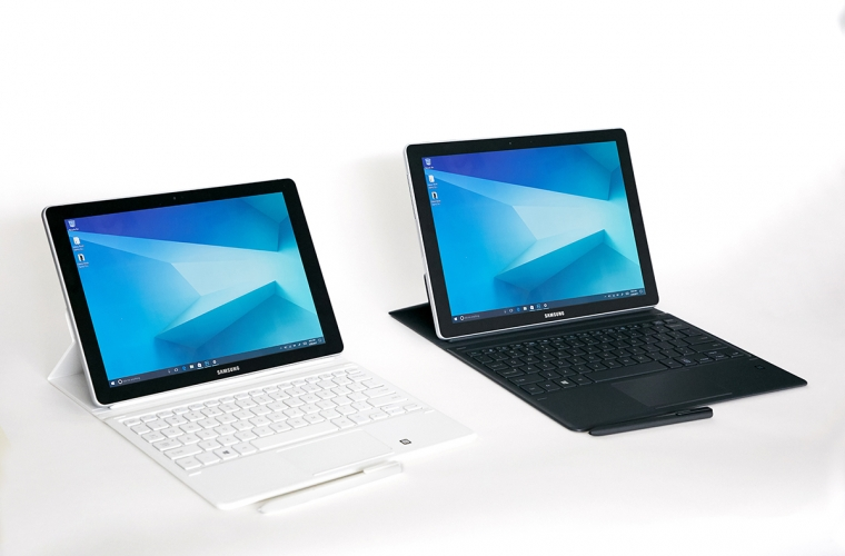 Samsung introduces its new Galaxy Book family of tablets running Windows 10 7