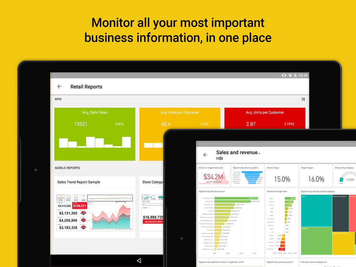 Power BI app for Android tablets is now available globally 1