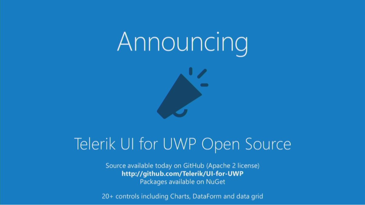 Telerik UI for UWP is now open source and free - MSPoweruser