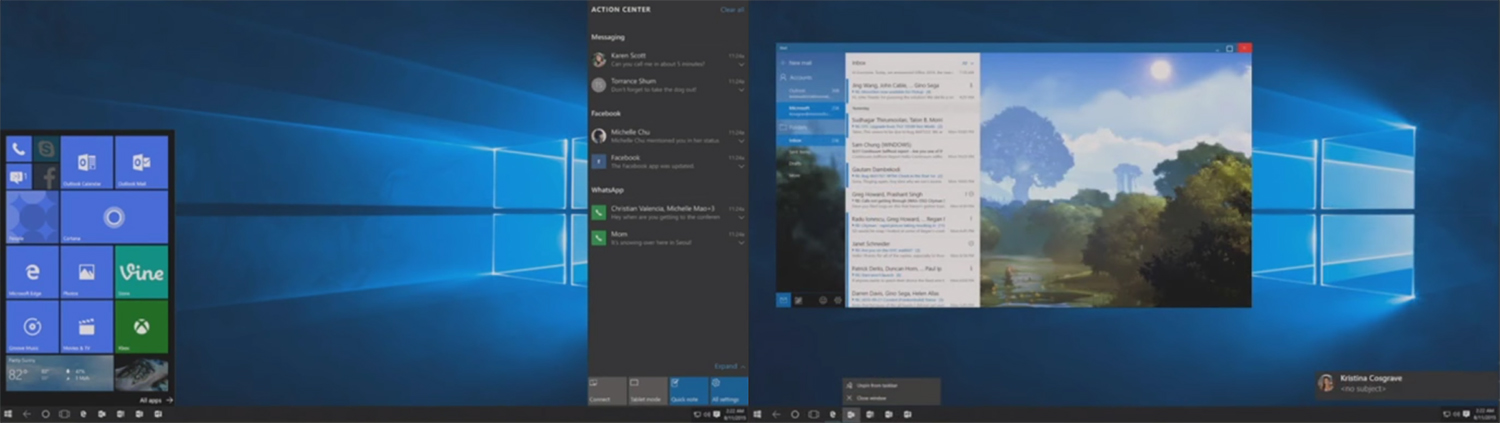 Microsoft Working On New Andromeda Desktop Experience