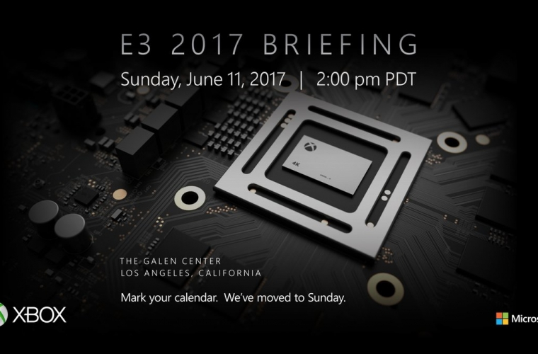 Xbox's E3 2017 briefing will be happening on June 11 16