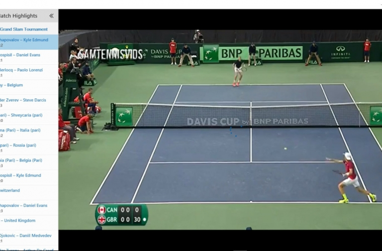 """Developer Submission: """"Live Sports and TV"""" updated with match highlights 3"""