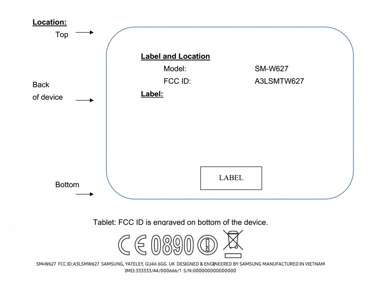 Smaller 10.2 inch Samsung Windows tablet clears FCC 1