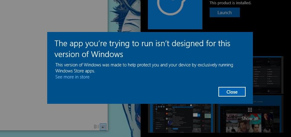 Early version of Windows 10 Cloud leaks (screenshots) 2