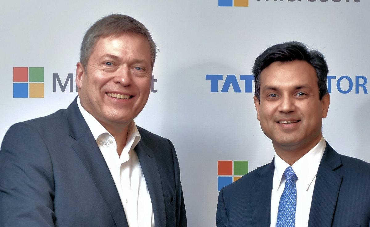 Microsoft confirms rumoured partnership with Tata Motors 1