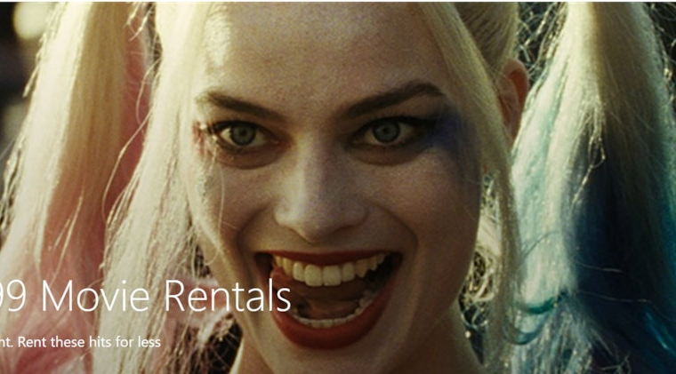 Deal Alert: Rent Suicide Squad, Guardians of the Galaxy and many more great movies for only $0.99 25