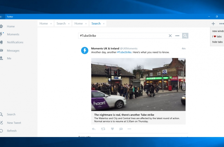 Twitter adds Tabs to its Windows 10 app, and it's literally the best feature ever [Updated] 25
