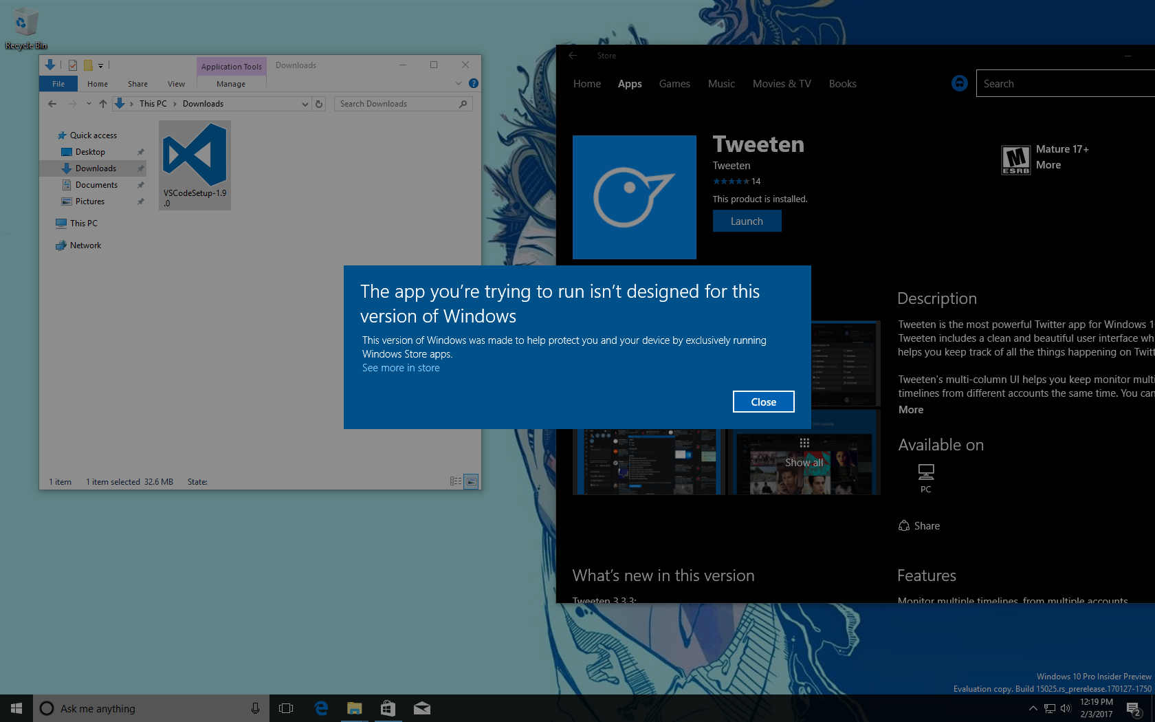 Early version of Windows 10 Cloud leaks (screenshots) 3