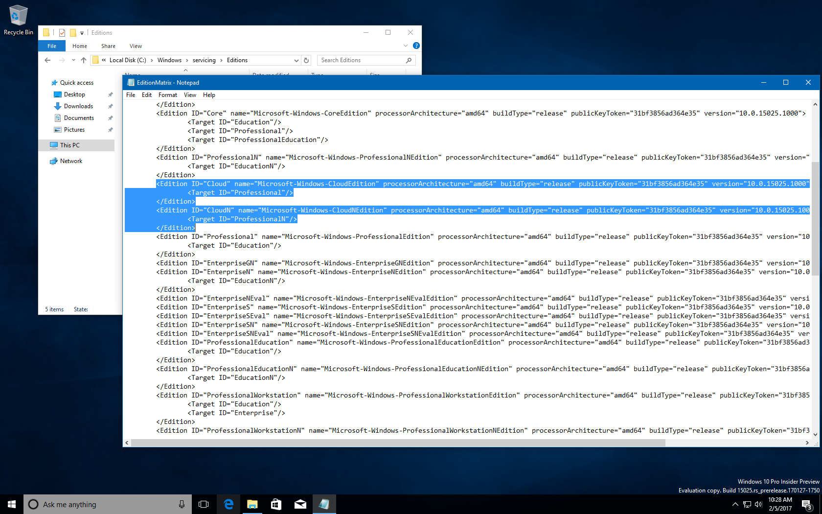 You might be able to upgrade Windows 10 Cloud to a different