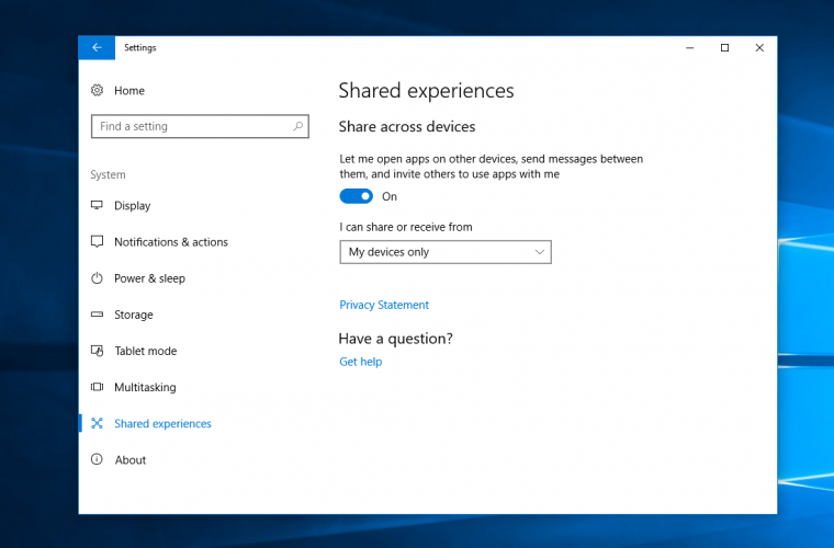 Windows 10's Shared Experiences feature now supports Android apps 16