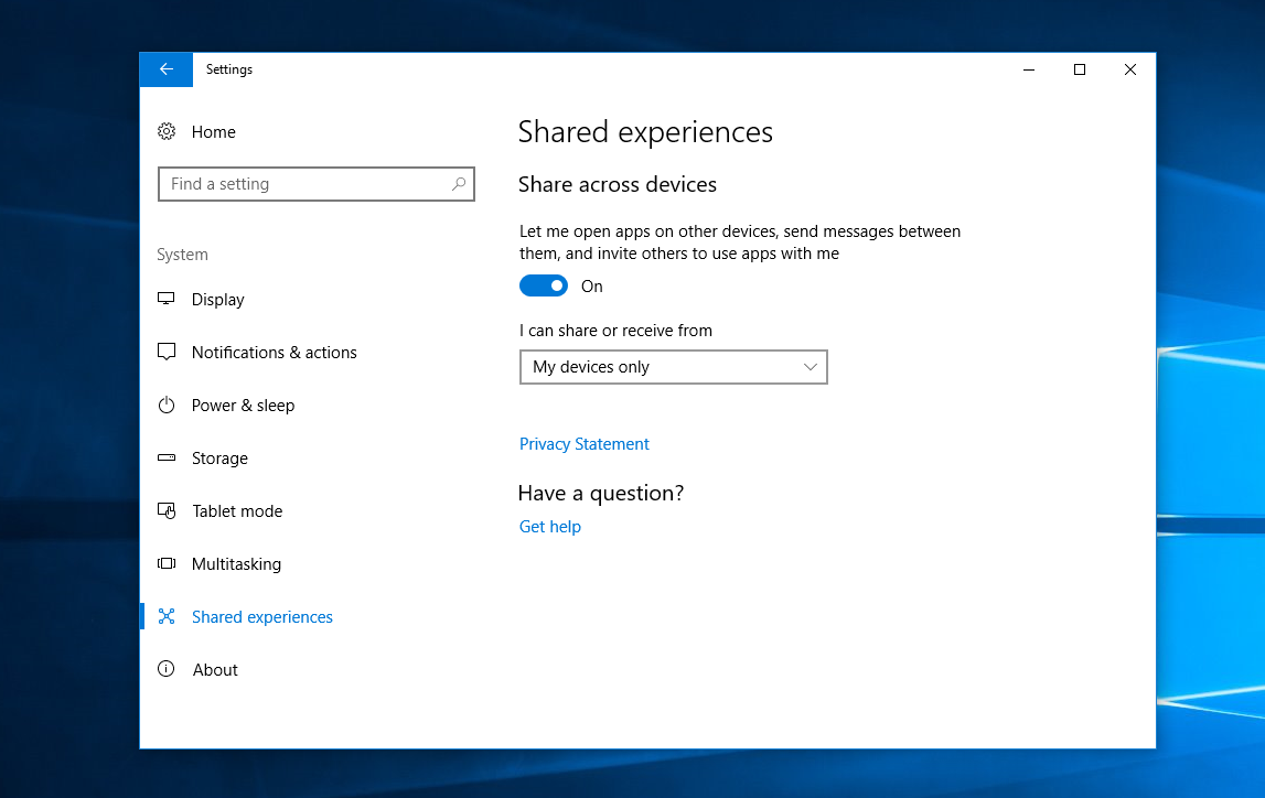 Windows 10's Shared Experiences feature now supports Android apps 1