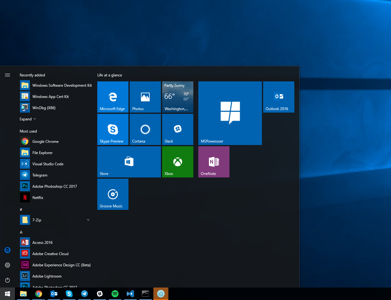 Microsoft will provide more info on the windows sdk inside for Cpm windows 10