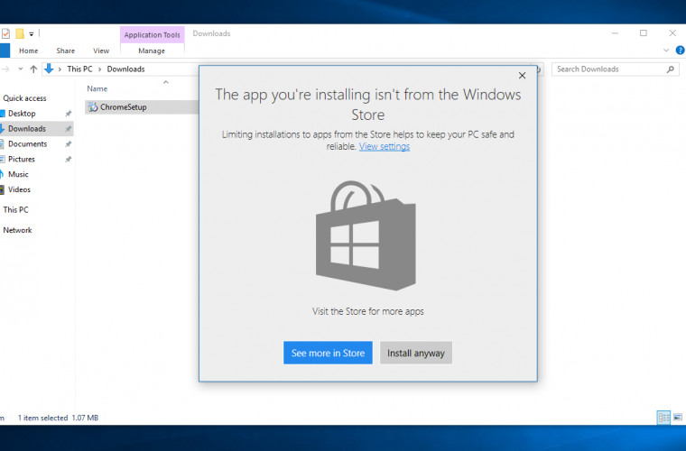 Microsoft just added the best way of preventing installation of bloatware in Windows 10 9