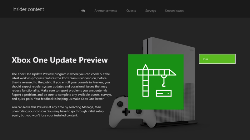 New preview beta & delta 1806 system update 6/24/18 xbox wire.