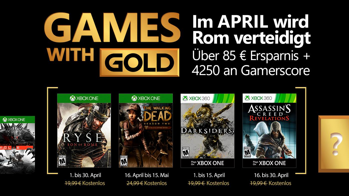 Update Now Official Xbox Austria Leaks Aprils Games With