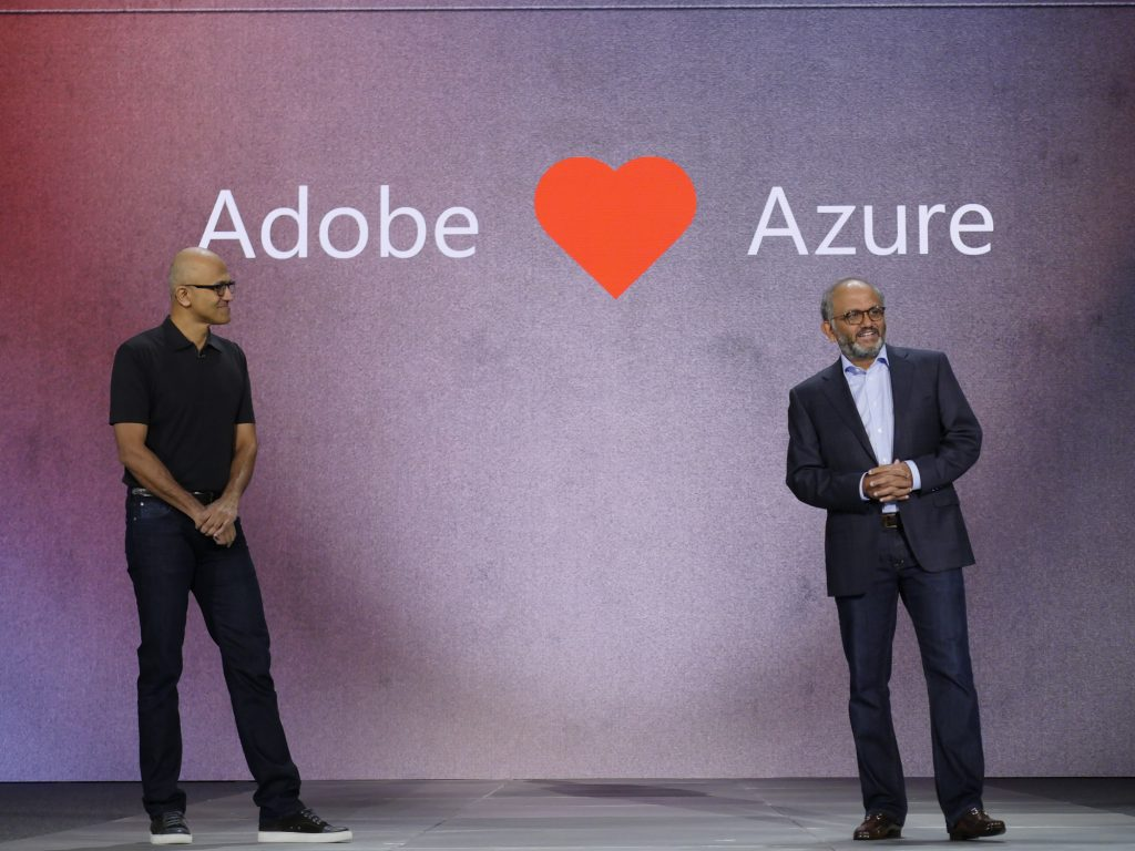 Adobe and Microsoft are collaborating to create an industry standard data model for marketing, sales and services 1
