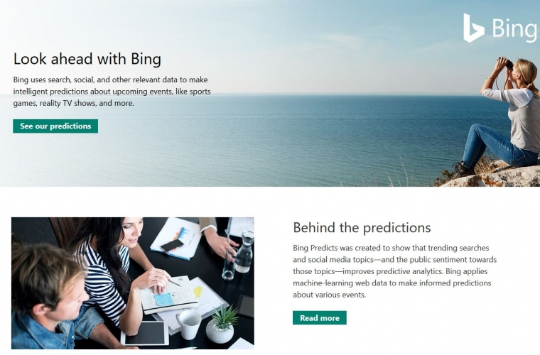 Asset Management firm Acadian to use Microsoft's Bing Predicts data to place its investment bets 11