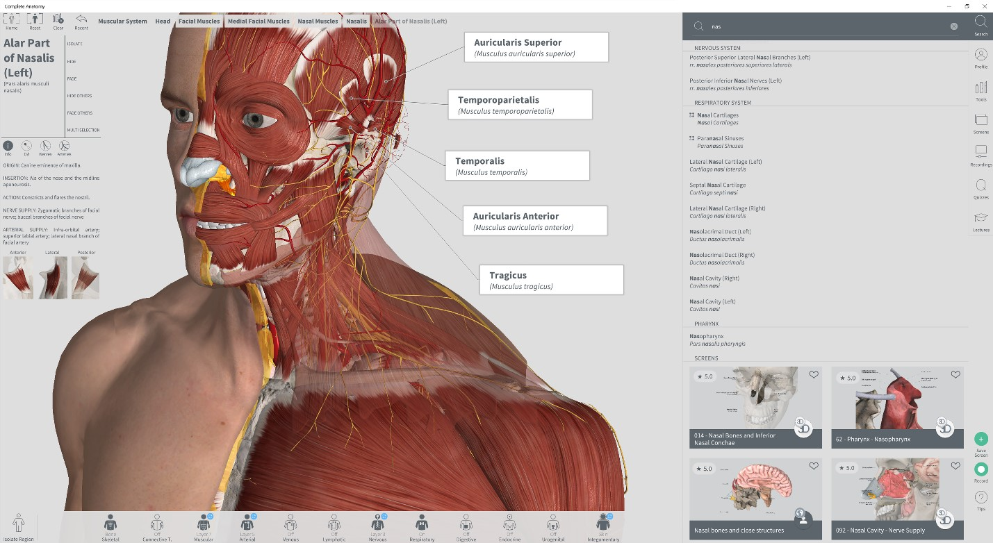 Popular Ios App Complete Anatomy Now Available For Download From
