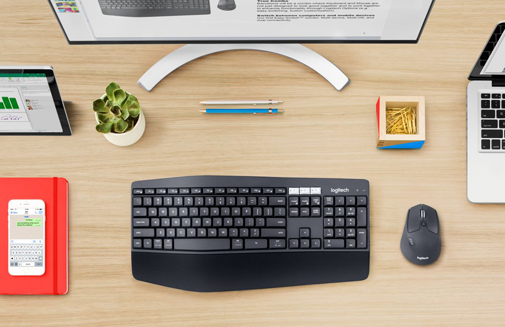 Logitech announces new MK850 Performance wireless keyboard and mouse combo 1