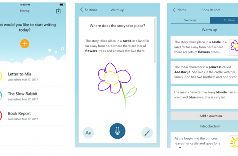 Microsoft Garage's Write Ideas app helps students bring their ideas to the page 5