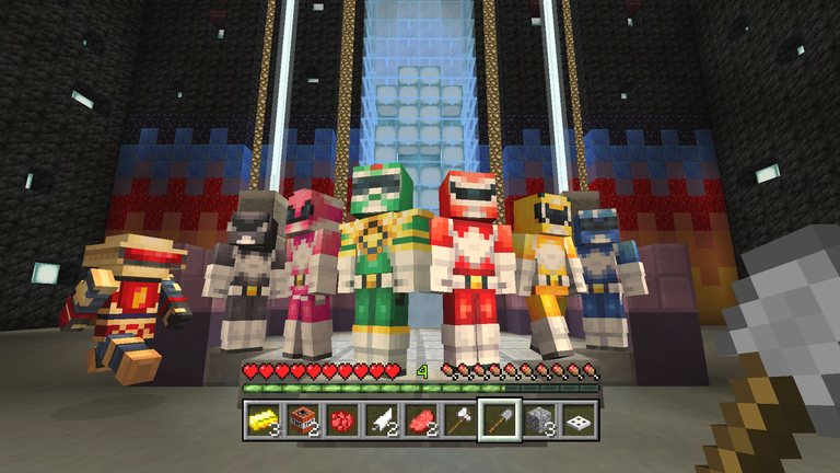 The Power Rangers Skin Pack Now Available On Minecraft Console - Skins para minecraft windows 10