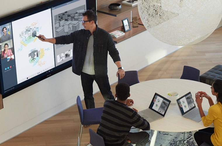 Microsoft's new 'Creative Spaces' gives us a sneak peek at what the future of workplaces will look like 12