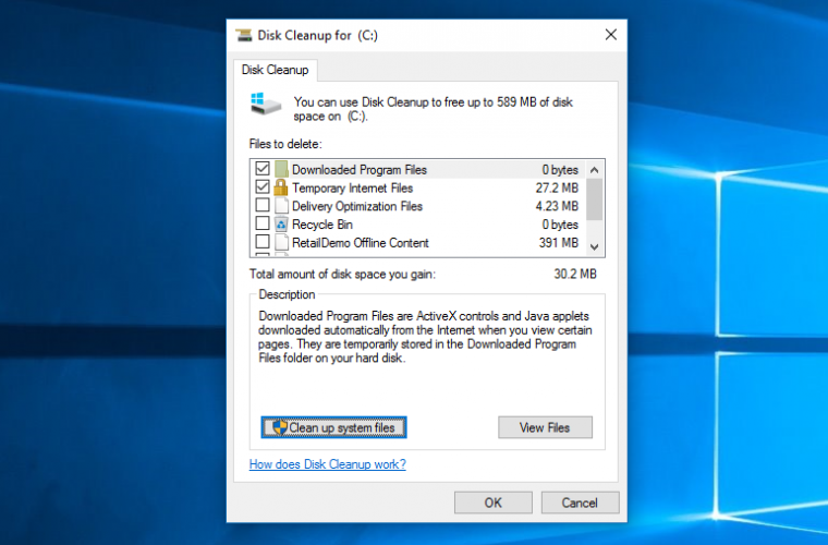 Windows 10 20H1 users will no longer be able to delete files in the Downloads folder using Disk Cleanup tool 4