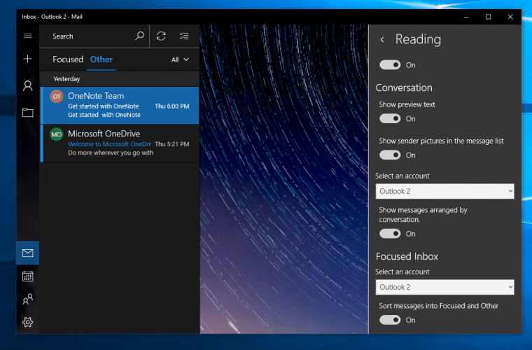 You can now turn off colourful contact icons or profile pictures on the Outlook Mail app in Windows 10 16