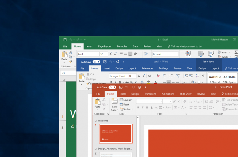 Microsoft's Office apps will soon let you auto-save files from OneDrive and SharePoint 17