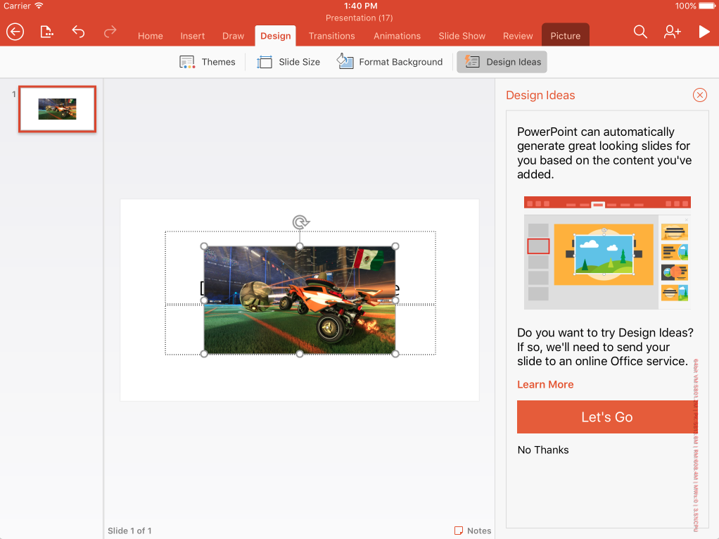 Microsoft brings excel co authoring powerpoint designer and more to with the latest update microsoft is introducing designer for powerpoint which will intelligently give you design ideas for your toneelgroepblik Image collections