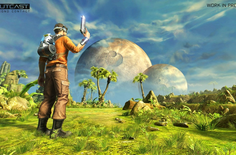 Remastered cult classic Outcast: Second Contact is coming out in October 3