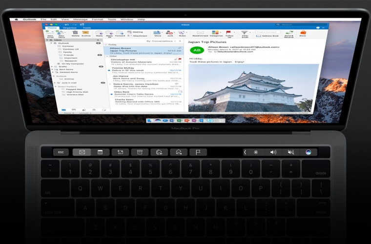 Microsoft brings Touch Bar support and Add-ins to Outlook on the Mac 11