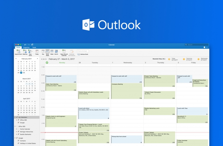 Microsoft opens up Outlook for Mac preview to all users, encourages them to try out Google Calendar integration 13